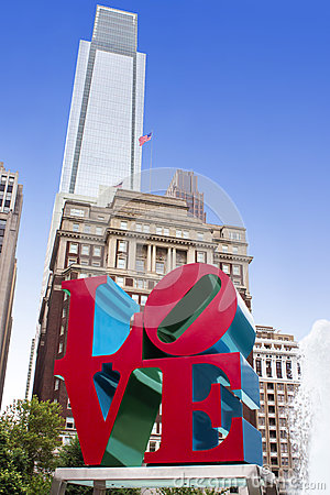 Free Love Park In JFK Plaza, City Of Philadelphia, Pennsylvania Royalty Free Stock Images - 37178329