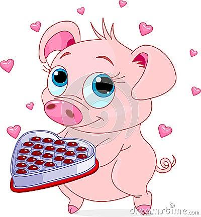Love piglet