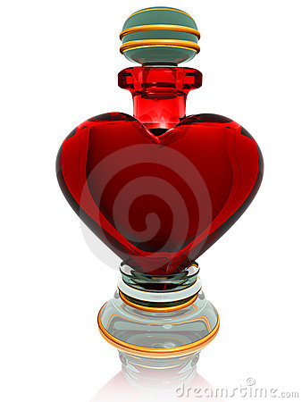 Free Love Potion Royalty Free Stock Photo - 17041125