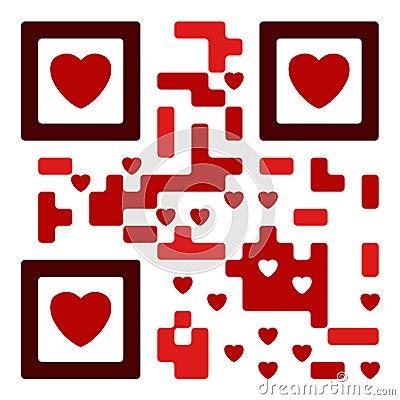 Love qr code