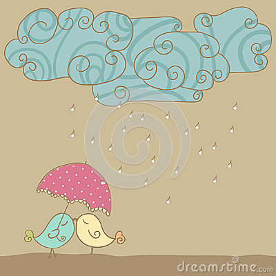Love in rain