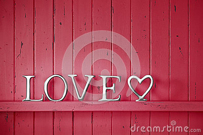 Love Red Valentine Background