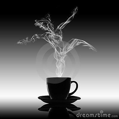 Love Relaxation Pleasure Danse Coffee Concept