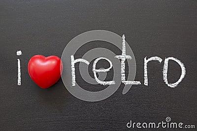 Love retro