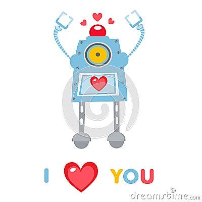 Free Love Robot Royalty Free Stock Photos - 28846698