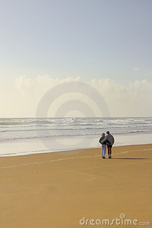 Free Love Romantic Beach 02 Stock Photography - 700162