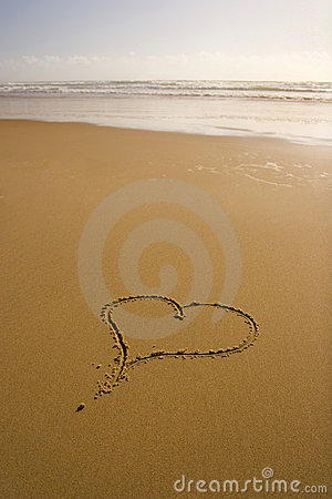 Free Love Romantic Beach Stock Images - 688384