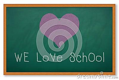WE LOVE SCHOOL
