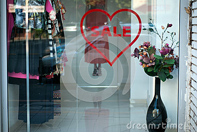 Love sells Editorial Stock Image