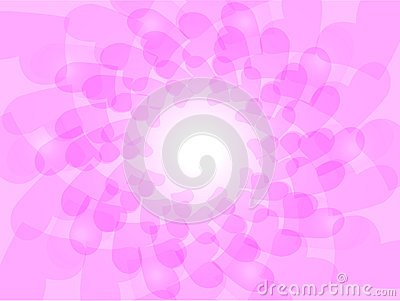 Love Shape Design Wallpaper : Love Shape In Pink Stock Vector - Image: 66464334