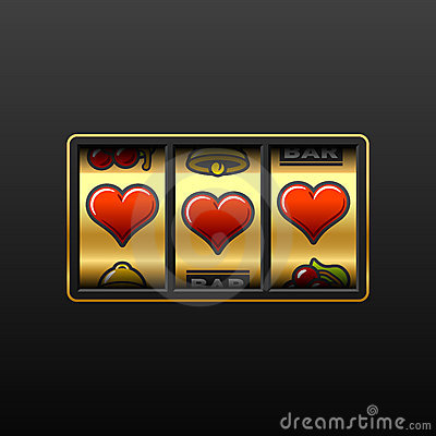 Free Love Slot Machine Royalty Free Stock Photo - 12913615