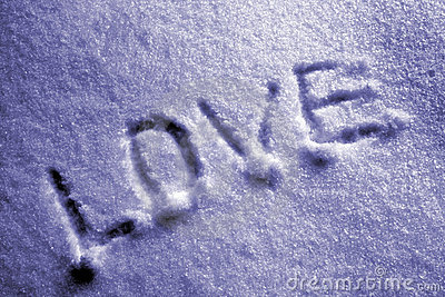 Love on the snow