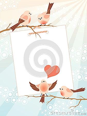 Love song frame
