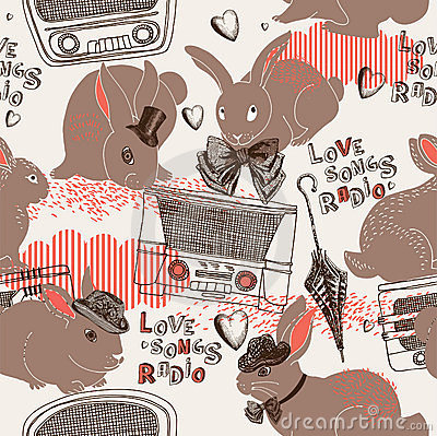 Love Songs Radio Pattern