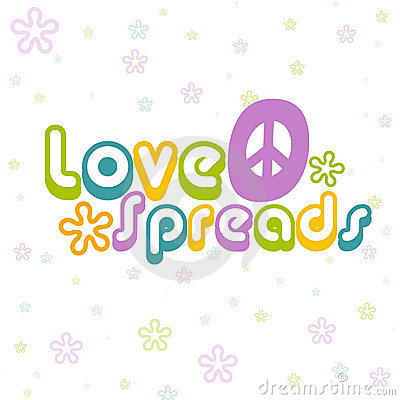 Love spreads background