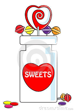 Love Sweets and jar