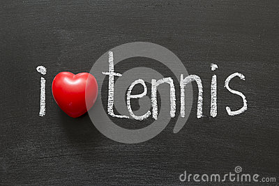 Love Tennis Stock Photo - Image: 26714520