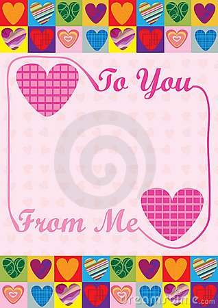 Love To You From Me Card_eps