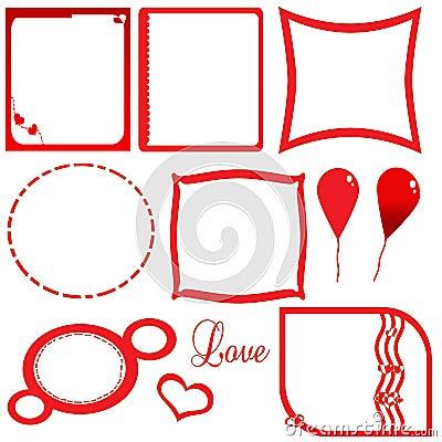Love valentine s frame