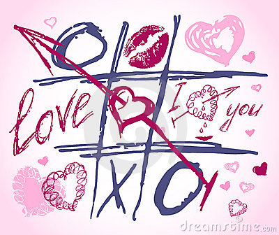 Love vector doodles. Set icon - hand drawn hearts