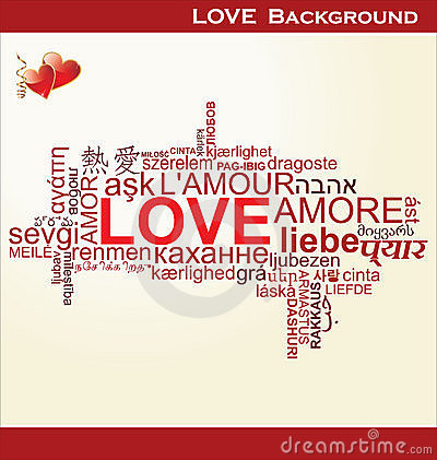 Love - word collage