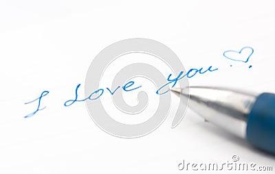 Love wording on paper