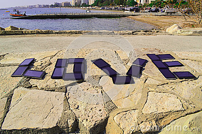 Love written with PC tablets