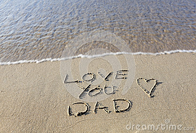 l Love You Dad Royalty Free