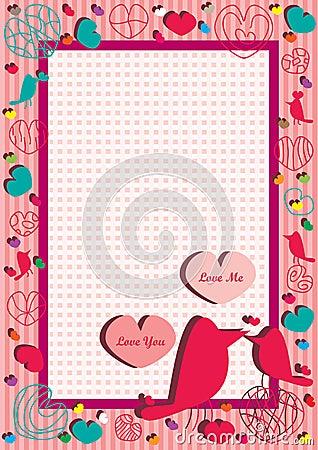 Love You Love Me Frame_eps