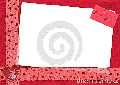 Love You postcard