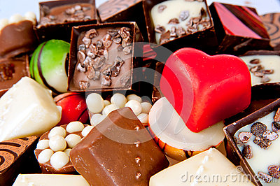 Loved chocolate sweets