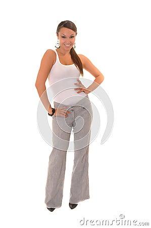 Free Lovely Brunette Girl Stock Images - 10753684