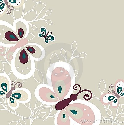 Lovely Butterfly Pattern Design