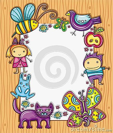 Lovely children frame