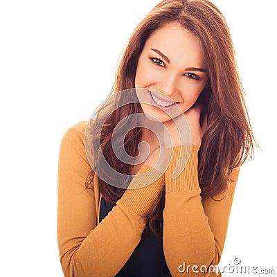 Lovely gentle woman