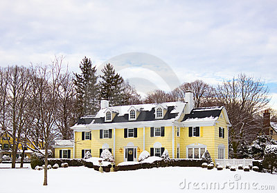 Lovely Home in Snow