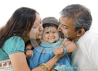 Lovely Indian family