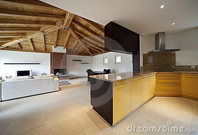 Lovely new house, modern interior