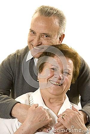 Free Lovely Senior Couple Stock Images - 8951764