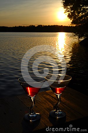Free Lovely Sunset Royalty Free Stock Photography - 26137407