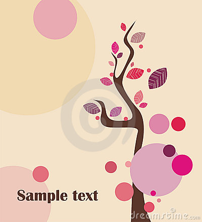 Lovely tree illustration