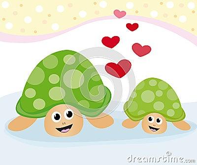 Lovely turtles
