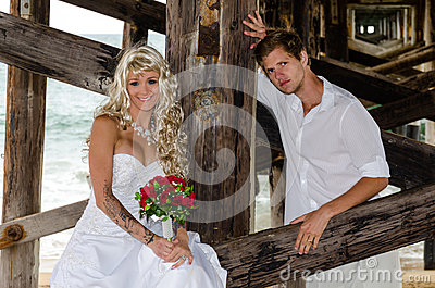 Lovely Young Married Couple