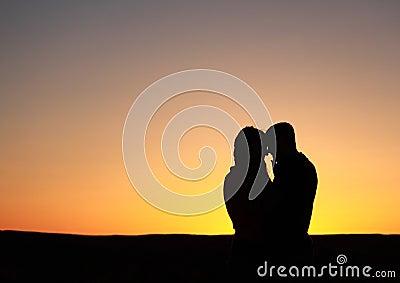 Lover s Heart Silhouette