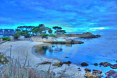 Lover s Point at Pacific Grove, California