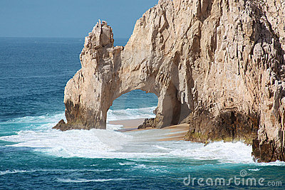 Lovers Beach Arch Los Cabos