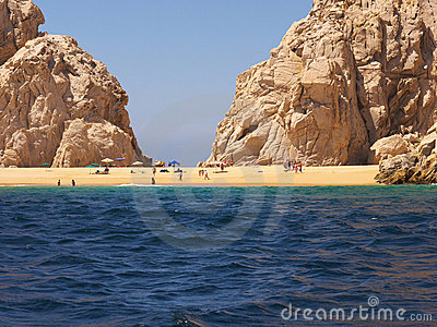 Lovers Beach  at Cabo Baja Mexico