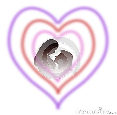 Lovers in heart