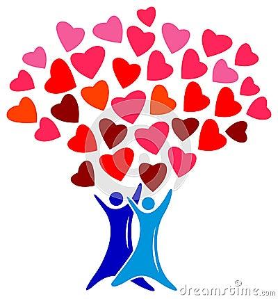 Lovers tree