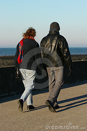 Lovers Walking
